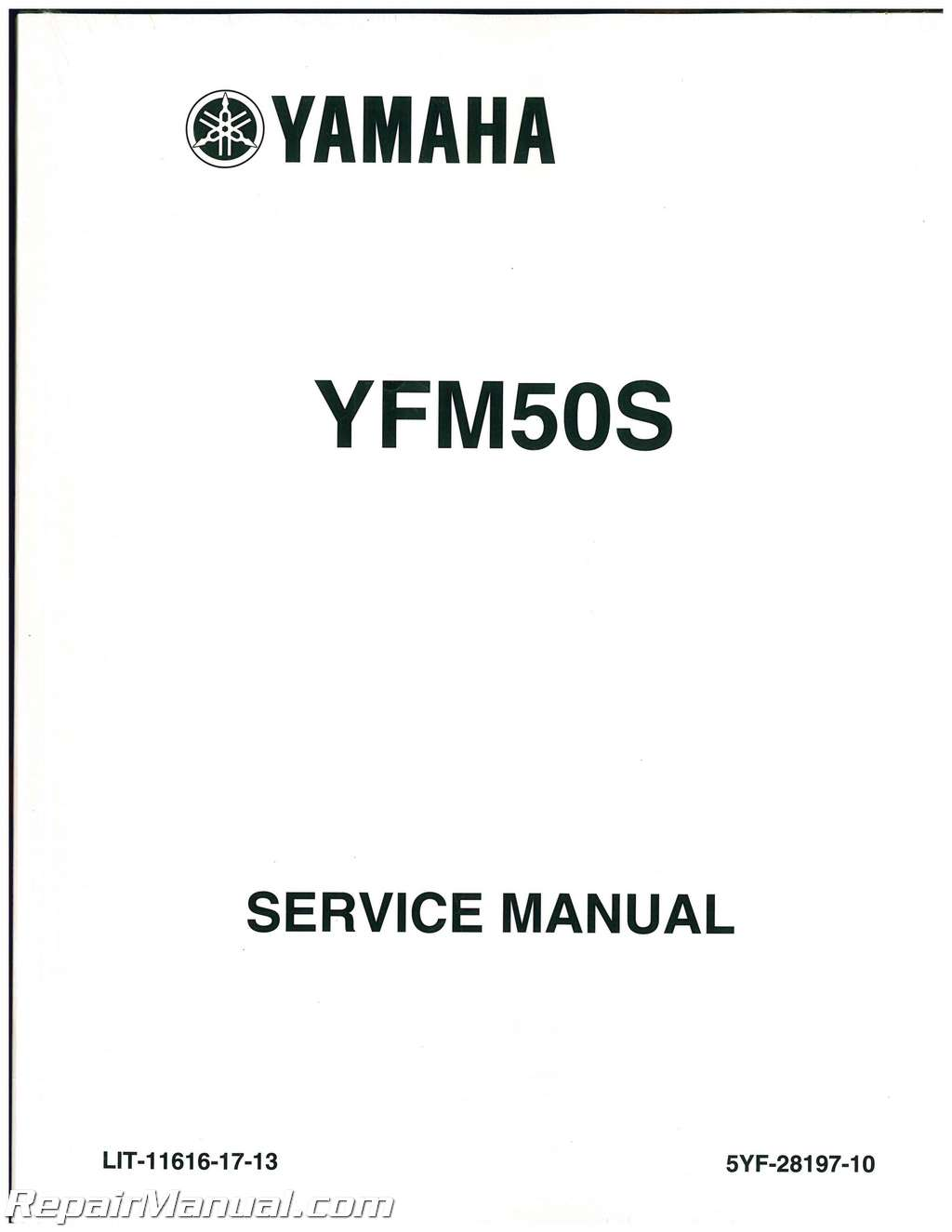 2004-2008 Yamaha YFM50 ATV Raptor Service Manual : LIT