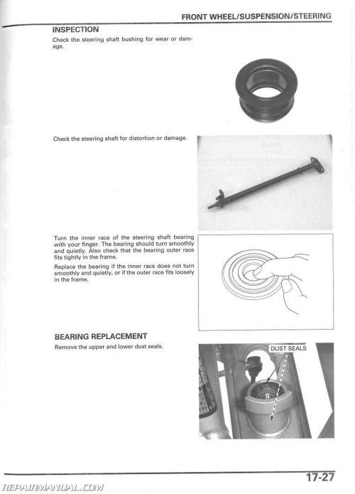 small resolution of honda trx 450r wiring diagram wiring library rh 8 skriptoase de 2005 honda trx450r wiring diagram 2006 honda trx450r wiring diagram
