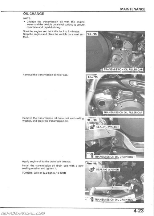 small resolution of 2004 2014 honda trx450r er sportrax atv service manual honda wiring diagram 2005 trx450r kicker wiring diagram
