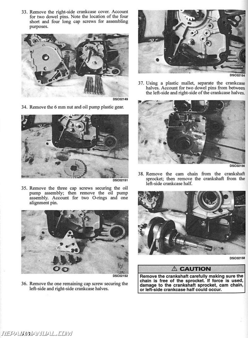 4 Stroke Motorcycle Engine Diagram 2004 Arctic Cat 90 Atv Service Manual