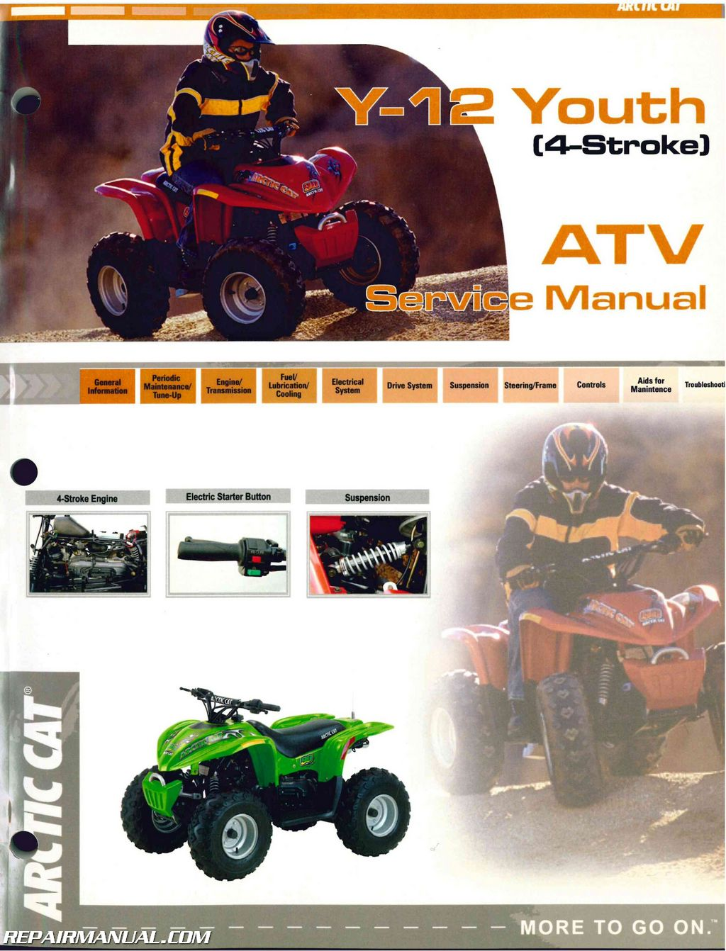 hight resolution of 2004 arctic cat 90 atv service manual