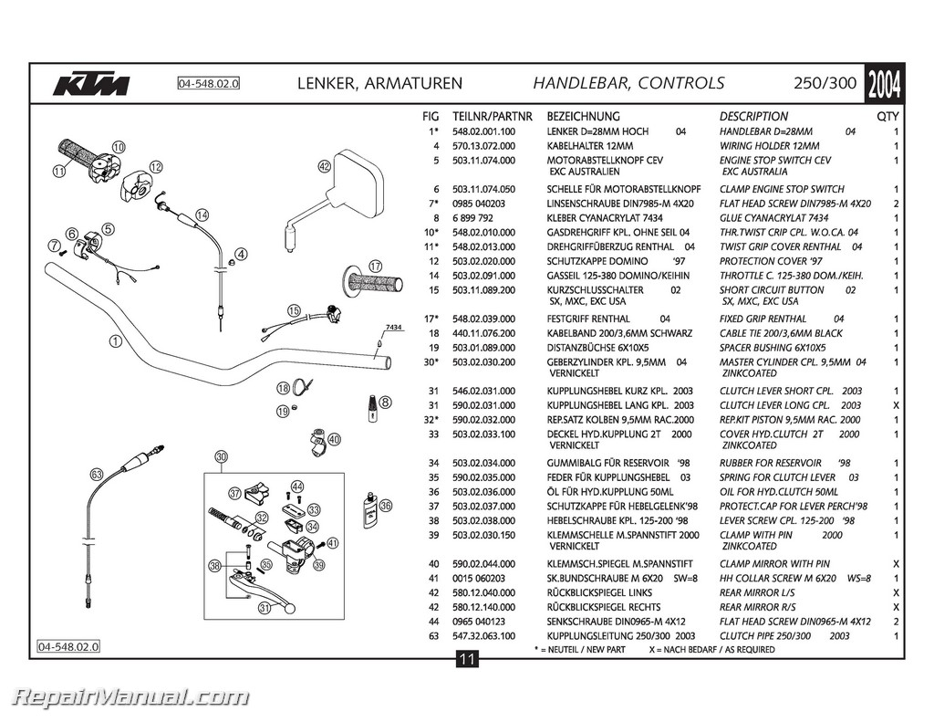 hight resolution of ktm part manual