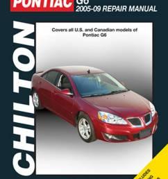 2005 2009 pontiac g6 chilton repair manual jpg [ 1024 x 1378 Pixel ]