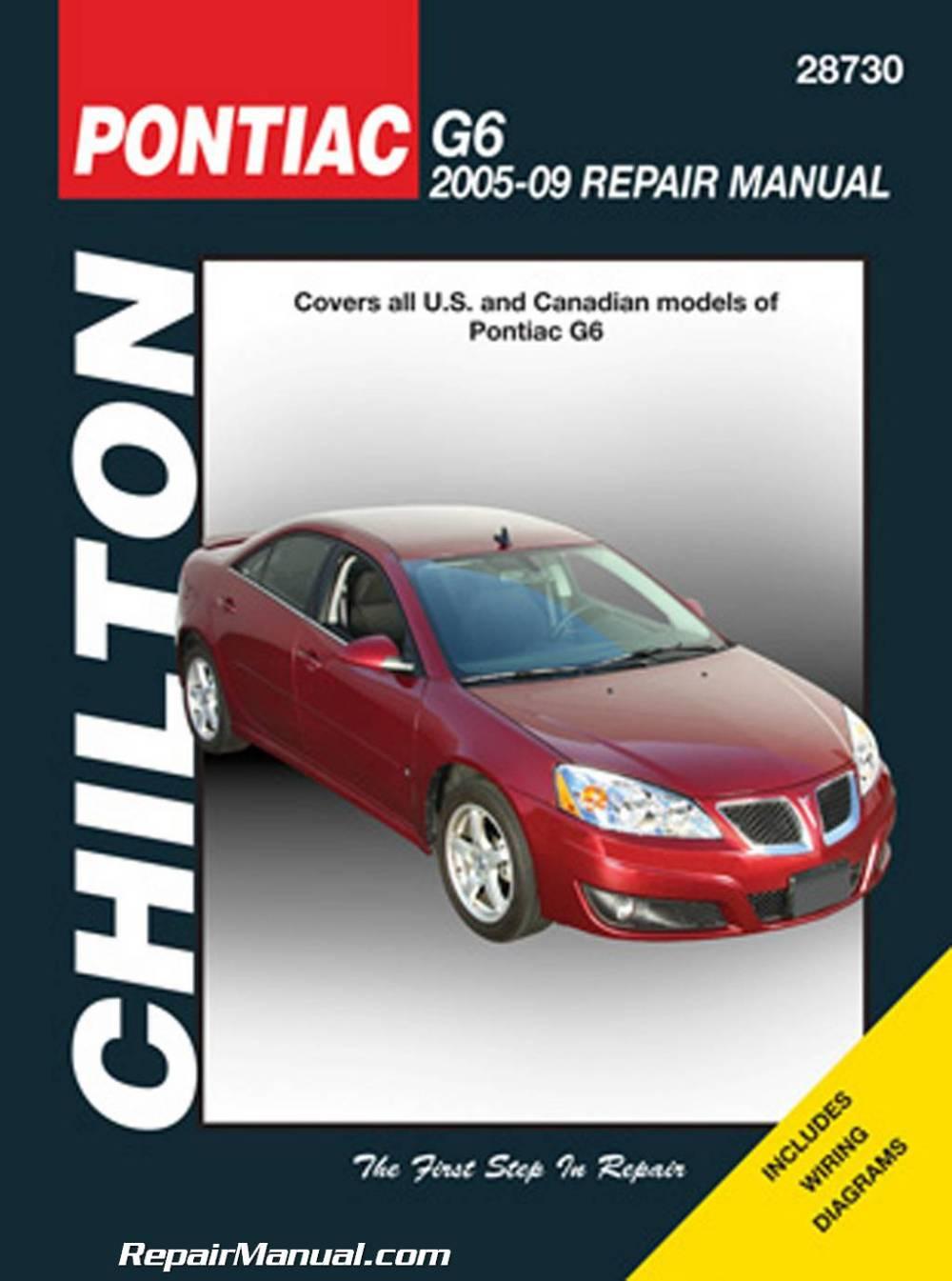 medium resolution of 2005 2009 pontiac g6 chilton repair manual jpg
