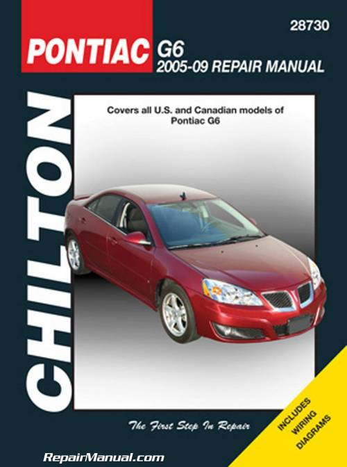 small resolution of 2005 2009 pontiac g6 chilton repair manual jpg