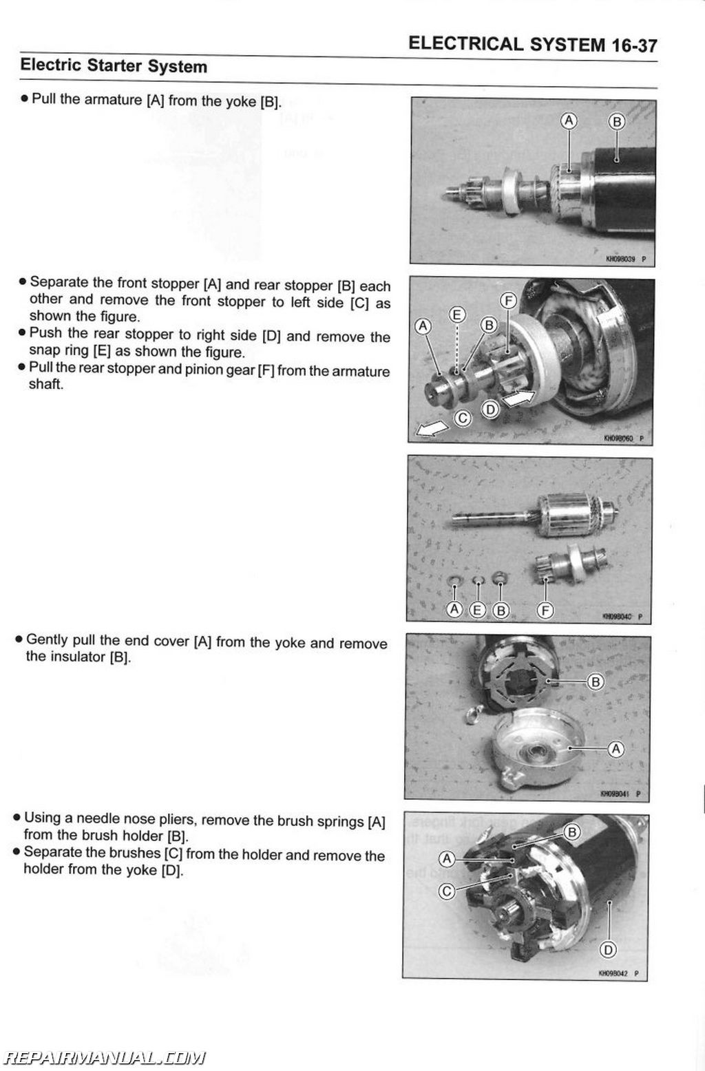 2006 kawasaki mule 3010 wiring diagram fender stratocaster 5 way switch 2005 2016 kaf400 utv 610 44 600 service manual