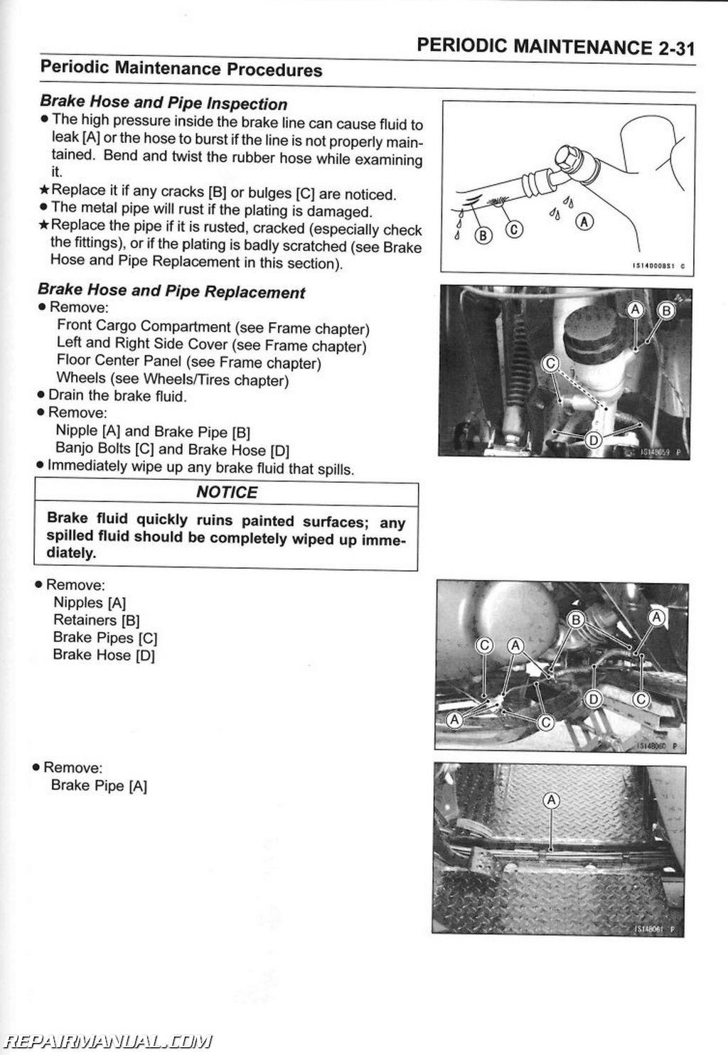 3010 Mule Fuel Filter 2005 2016 Kawasaki Kaf400 Utv Mule 610 4 215 4 600 Service Manual