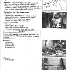 2006 Kawasaki Mule 3010 Wiring Diagram 1991 Ezgo Gas Marathon 2005-2016 Kaf400 Utv 610 4×4 600 Service Manual