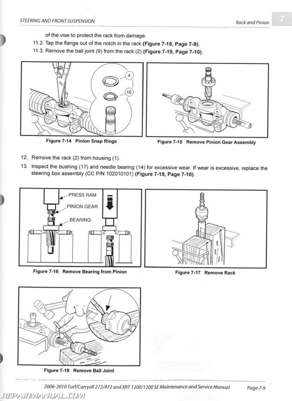 medium resolution of 2006 2010 club car turf carryall 272 472 xrt1200 se turf 272 rh repairmanual com 2003 gas club car wiring diagram 2008 club car gas wiring diagram