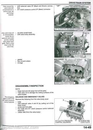 20062017 Honda Rincon TRX680FA FGA ATV Service Manual