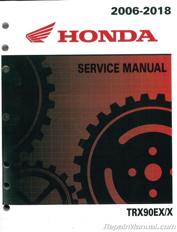 Honda Trx 90 Wiring Diagram