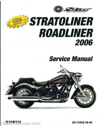 2006 Yamaha XV19 Stratoliner S Midnight Motorcycle Service
