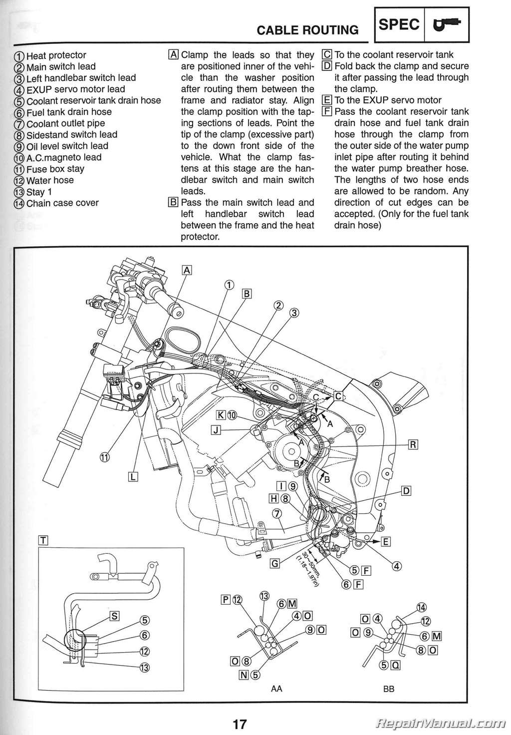 hight resolution of 2006 yamaha yzf r1 motorcycle service manual 2009 service manual yamaha yzfr1 and wiring diagrams