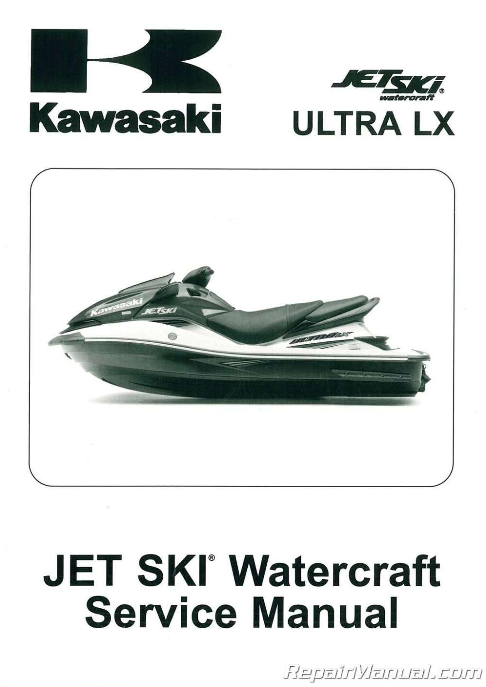 medium resolution of 2007 2011 kawasaki jt1500g ultra lx jet ski