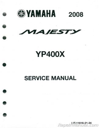 2009 Yamaha XP500Y TMAX Scooter Owners Manual