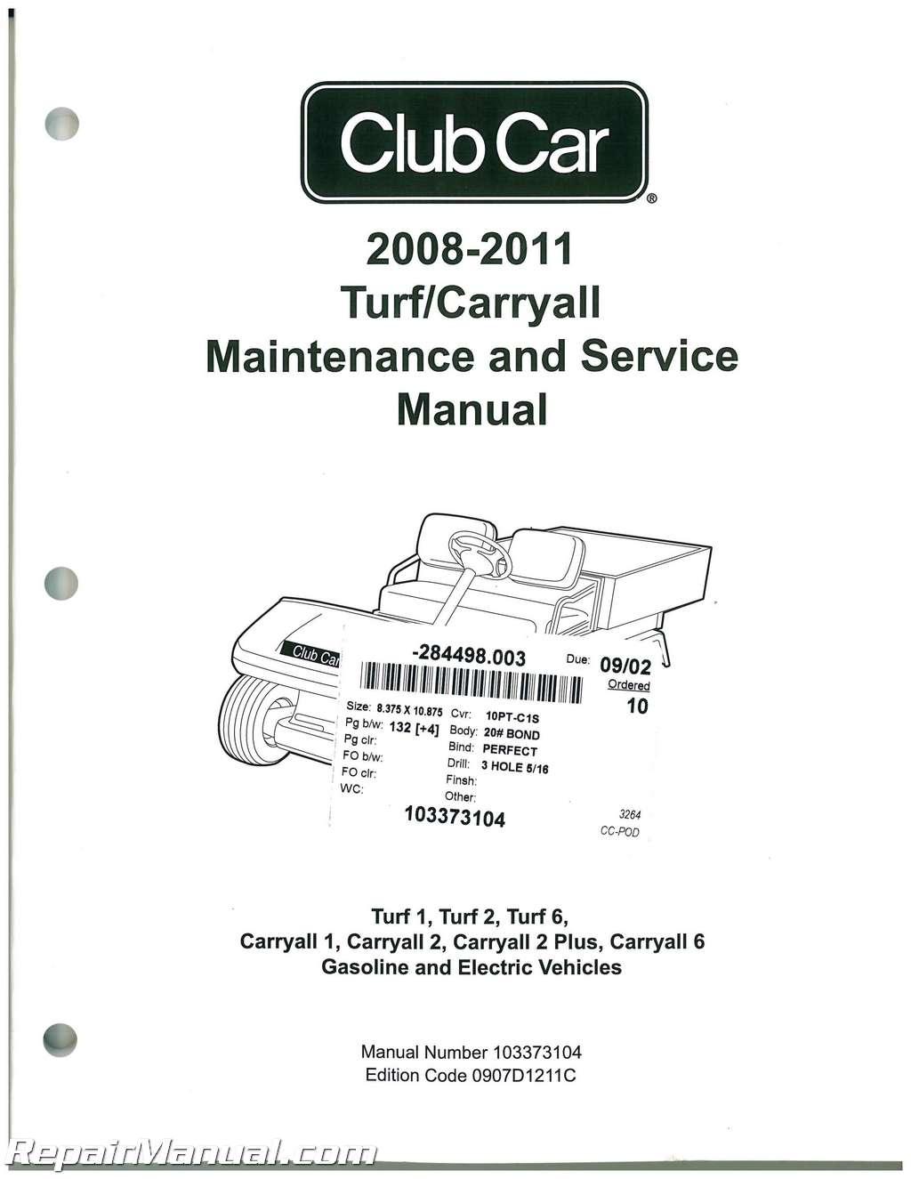 club car carryall 2 wiring diagram