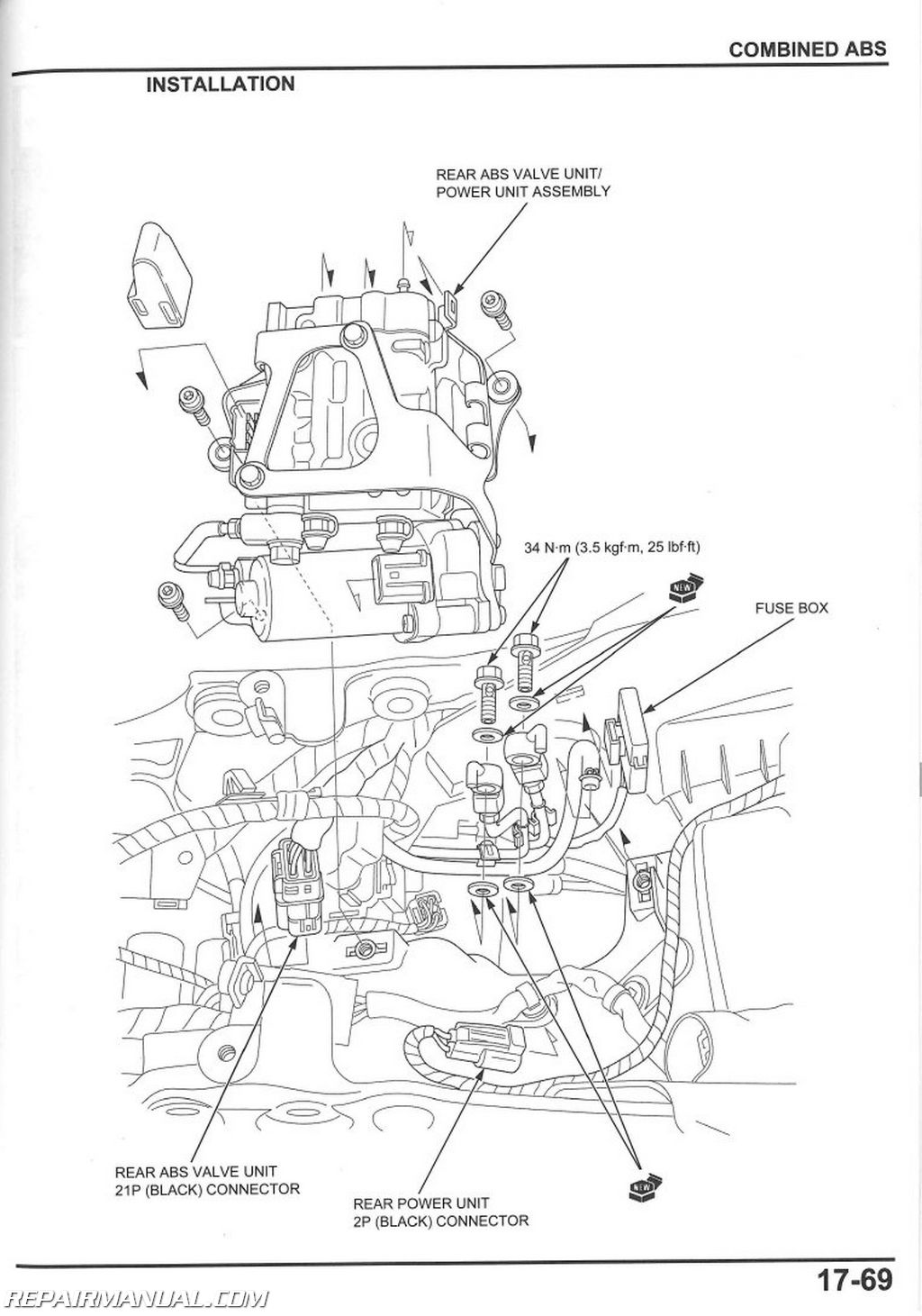Honda Cbr Rr Motorcycle Service Manual