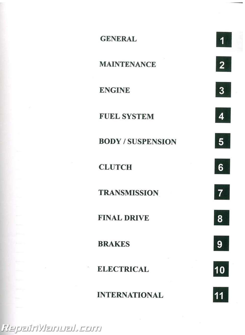 medium resolution of 2008 polaris sportsman 500 efi x2 touring h o atv service manual rh repairmanual com 2005 polaris 2007 polaris sportsman 500 adc wiring diagram