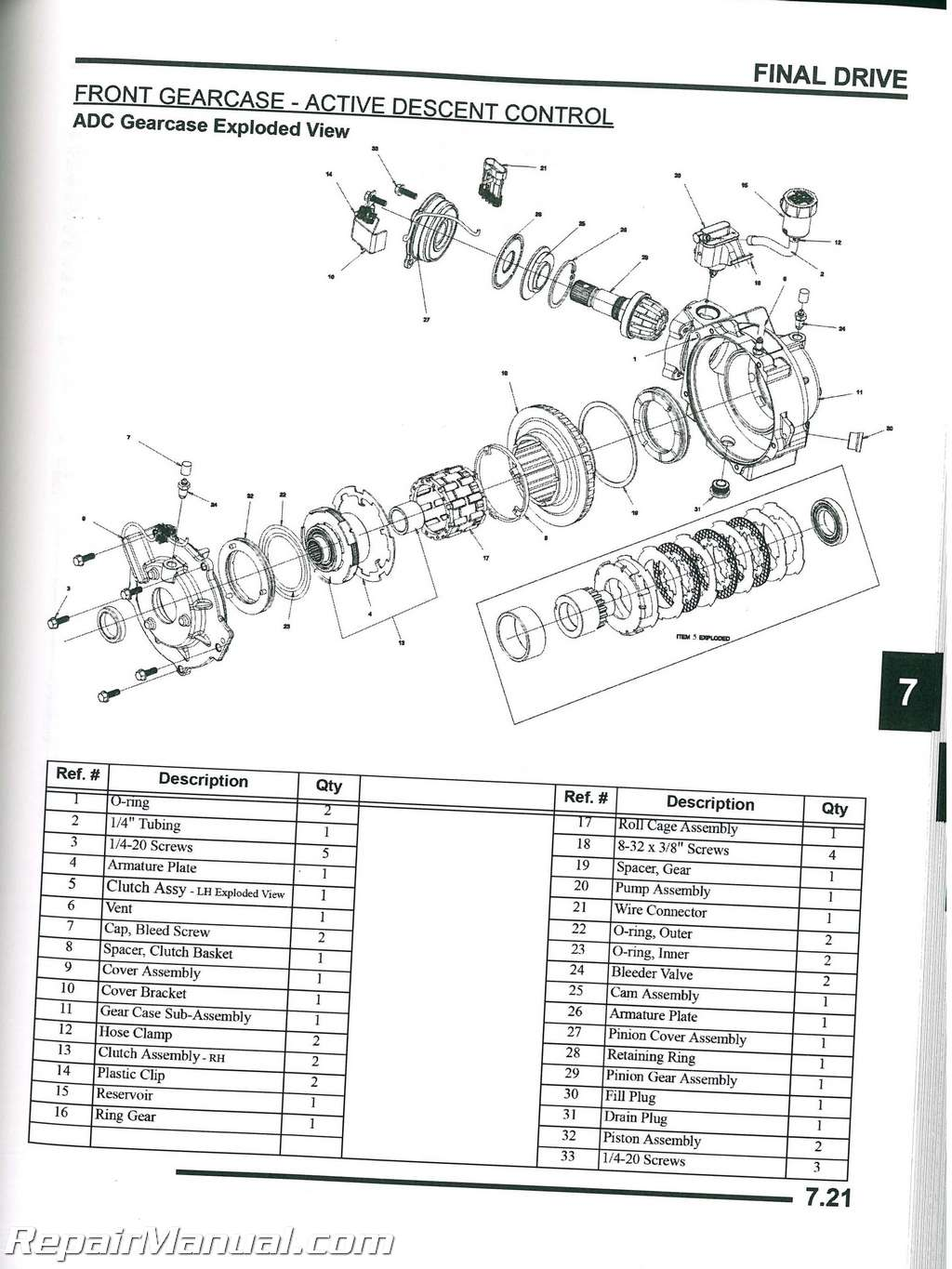 polaris 90 wiring diagram 6 way square trailer plug 2008 sportsman 500 efi x2 touring h.o. atv service manual