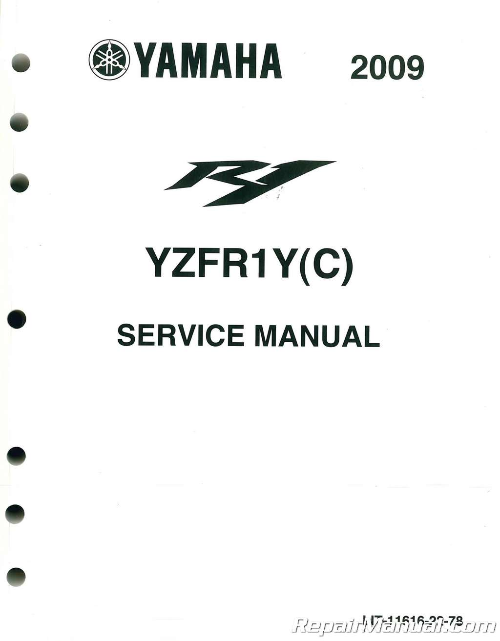 2009-2011 Yamaha YZFR1 Motorcycle Service Manual