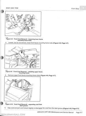 20092012 Club Car XRT 950 Maintenance Golf Cart Service
