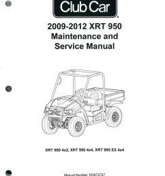 2009 2012 club car xrt 950 maintenance golf cart service manual2012 club car wiring diagram  [ 1024 x 1322 Pixel ]