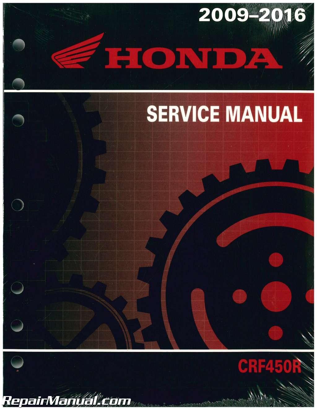 hight resolution of 2009 2016 honda crf450r motorcycle service manual2009 2016 honda crf450r