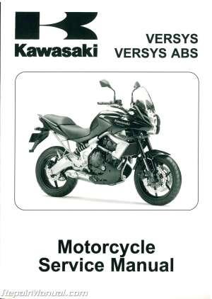 20102011 Kawasaki KLE650 Versys Service Manual