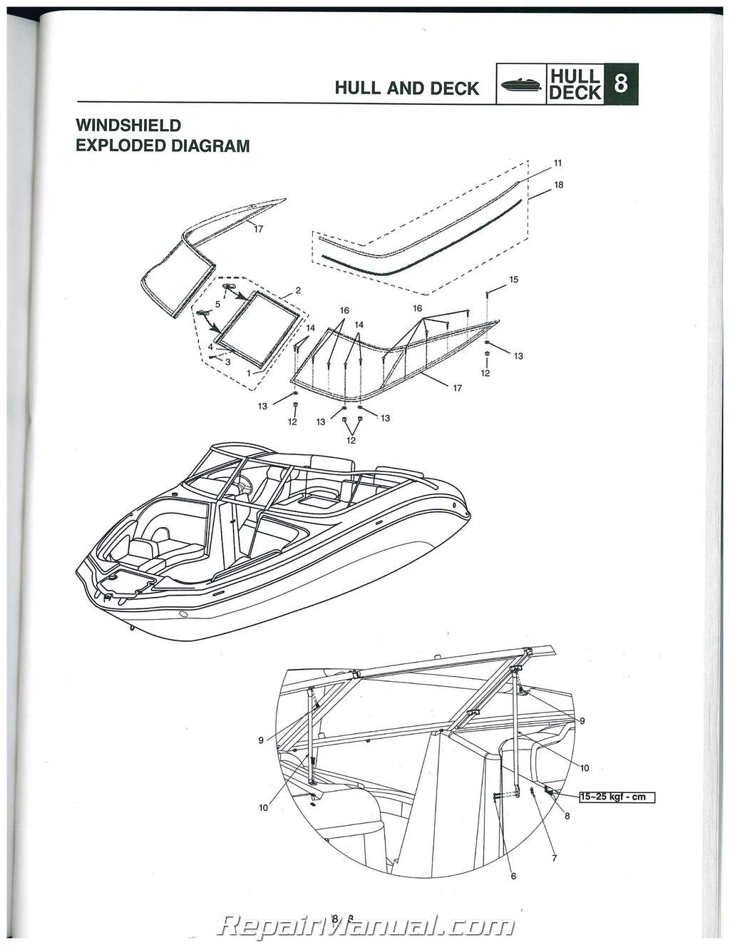 2010-2011 Yamaha SXT1800 242 Limited S AR240 SX240 High Output Sport Boat Service Manual