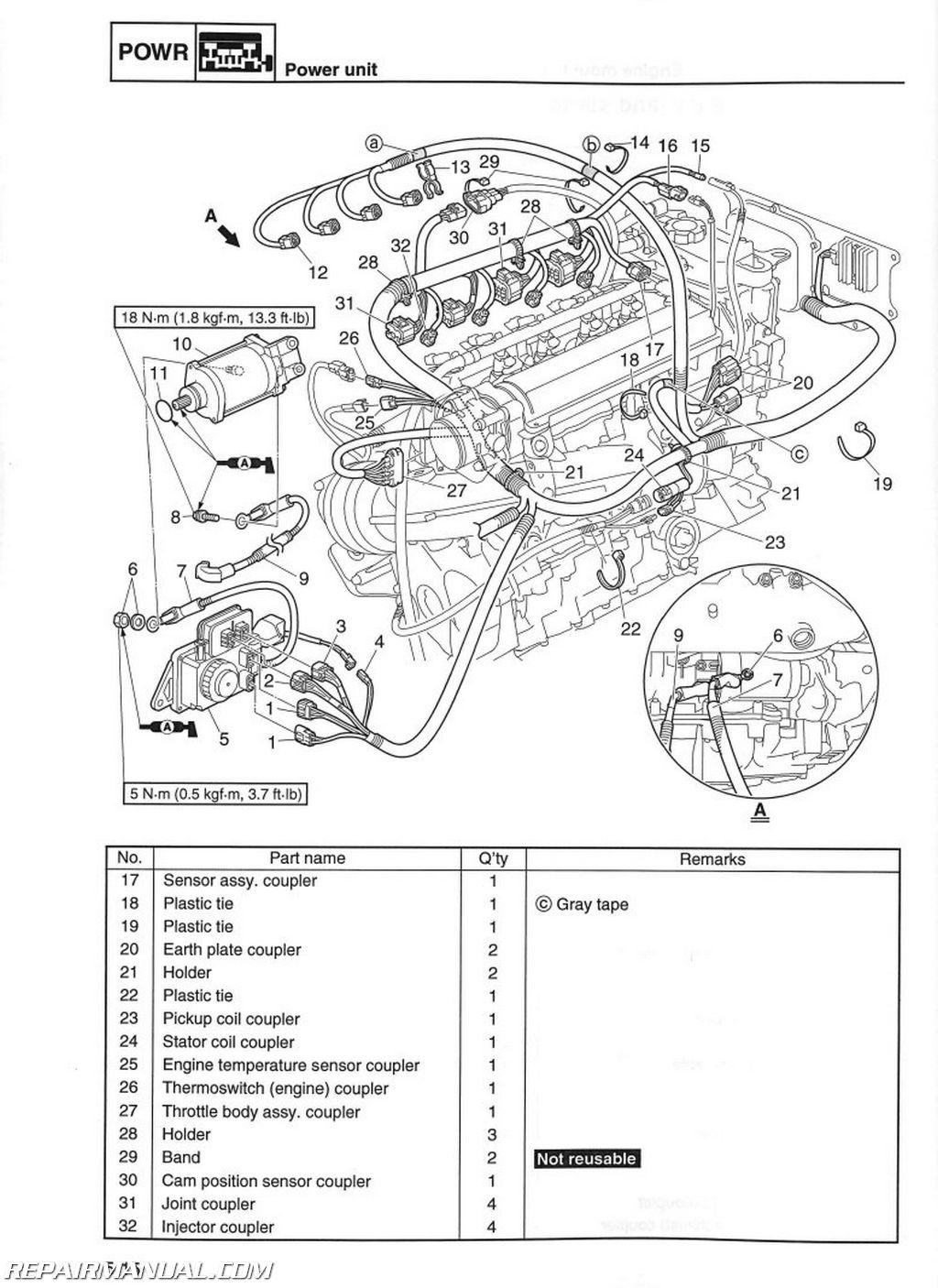 yamaha vx wiring diagram