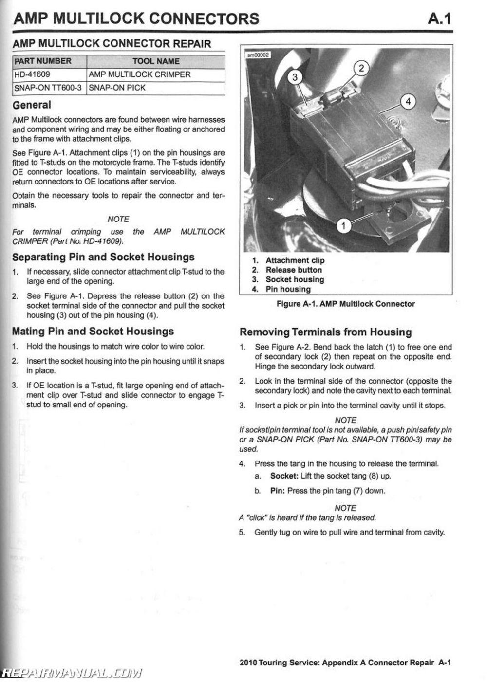 medium resolution of 2010 harley davidson touring motorcycle service manual
