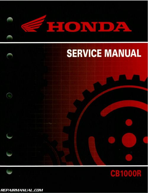 small resolution of 2011 2016 honda cb1000r motorcycle service manual wiring diagram honda cb1000