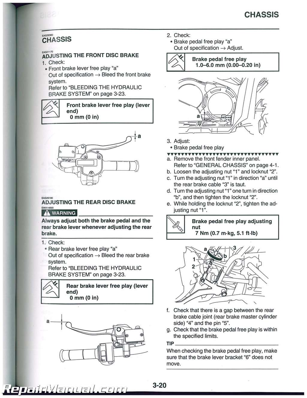 Yamaha Yfm550 Yfm700 Grizzly Atv Service Manual