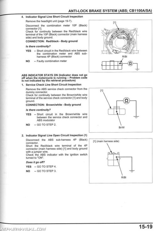 small resolution of 2013 2017 honda cb1100 a motorcycle service manual rh repairmanual com subaru headlight wiring diagram honda motorcycle headlight wiring diagram