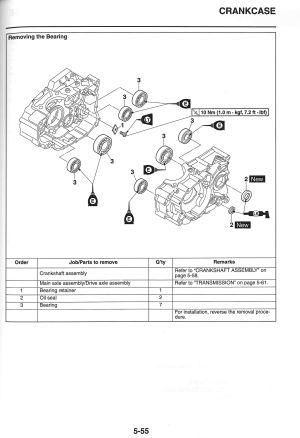 2013 – 2018 Yamaha XT250 Motorcycle Service Manual