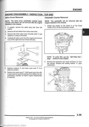 20132016 Polaris RZR 570 Side by Side Service Manual