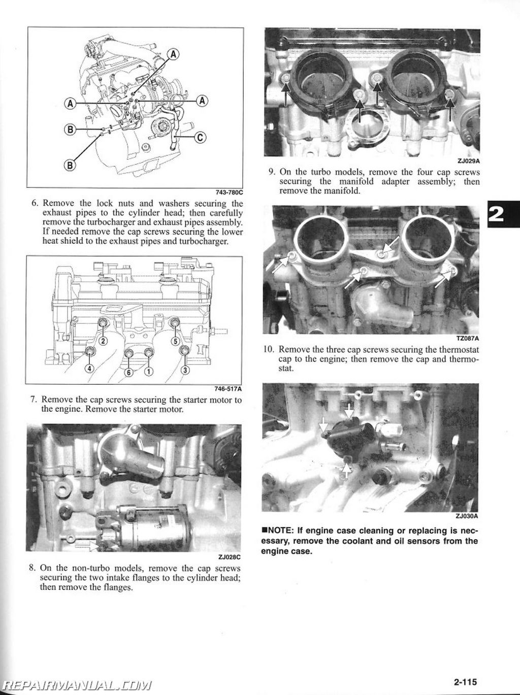 Arctic Cat Snowmobile Service Manual