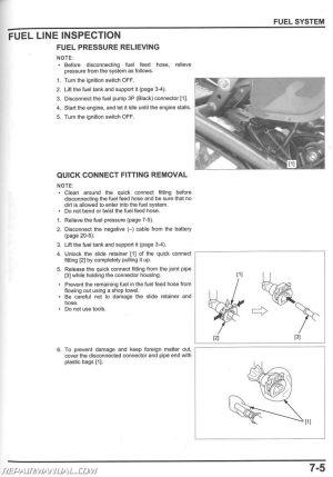 2013  2015 Honda NCH50 Metropolitan Scooter Service Manual