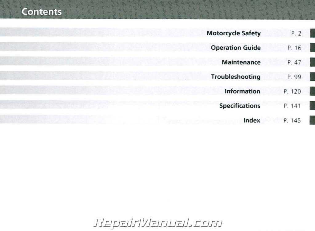 2014 Honda CTX700N/NA/ND (A/CE) Motorcycle Owners Manual
