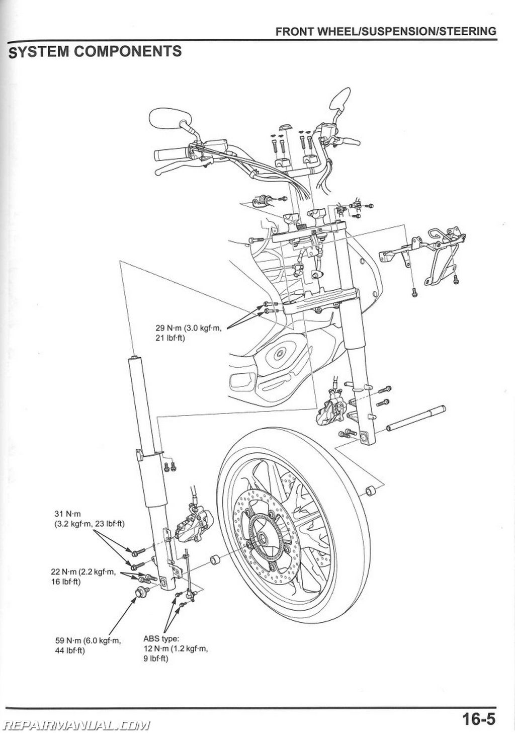 hight resolution of honda valkyrie headlight wiring diagram