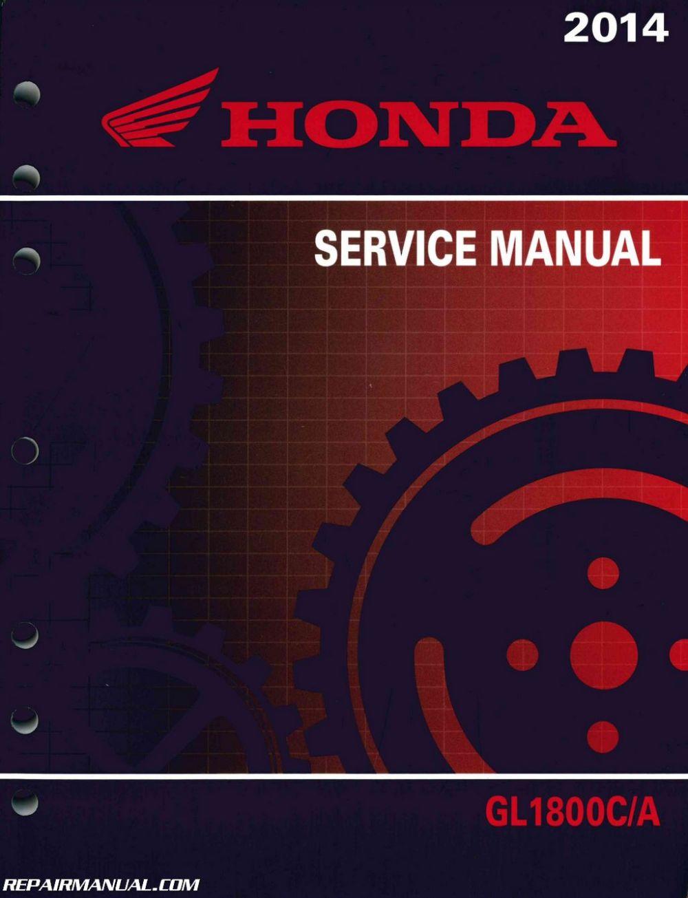 medium resolution of 2014 honda gl1800 c a gold wing service manual