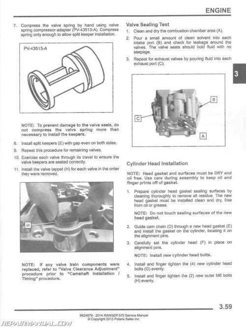 small resolution of 2015 2016 polaris ranger 570 etx crew side by side service manual