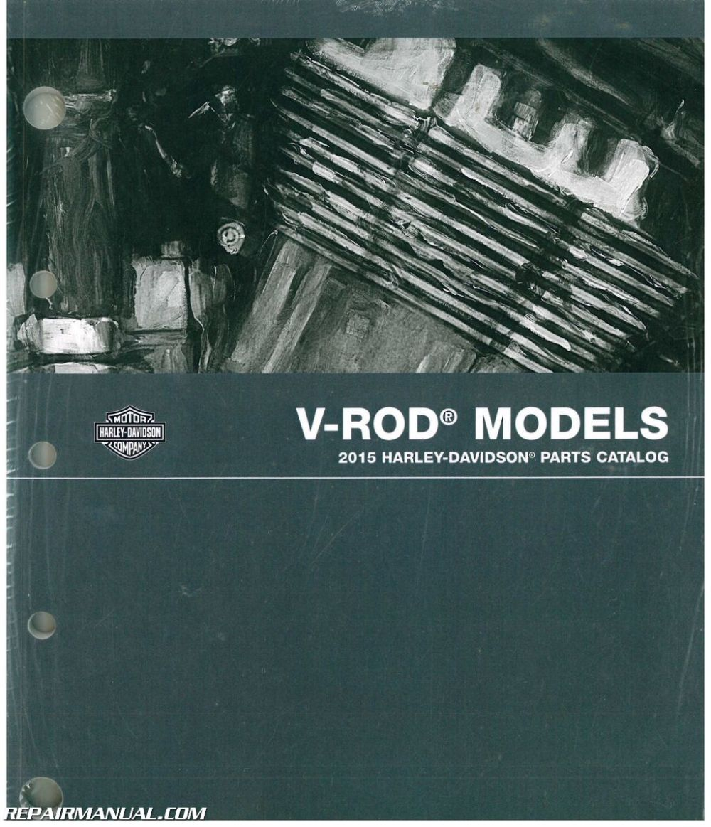 medium resolution of 2015 harley davidson v rod motorcycle parts manual
