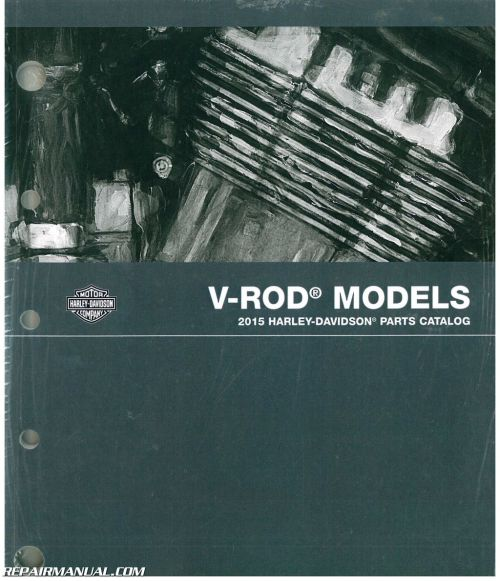 small resolution of 2015 harley davidson v rod motorcycle parts manual