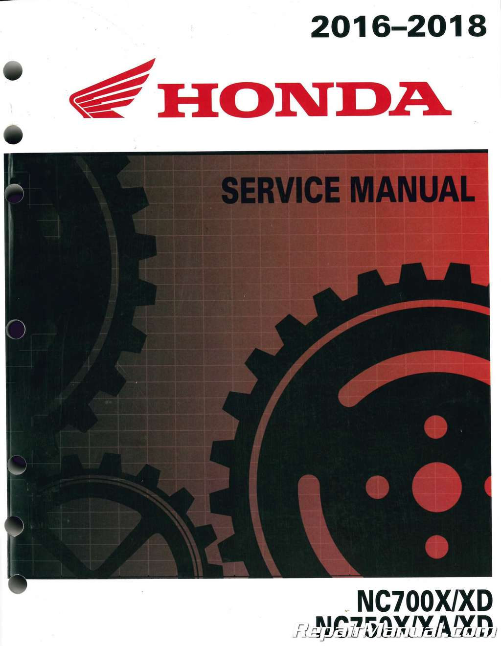 Honda Nc700x Wiring Diagram 2016 2018 Nc700x Xd Nc750x Xa Xd Motorcycle Service Manual