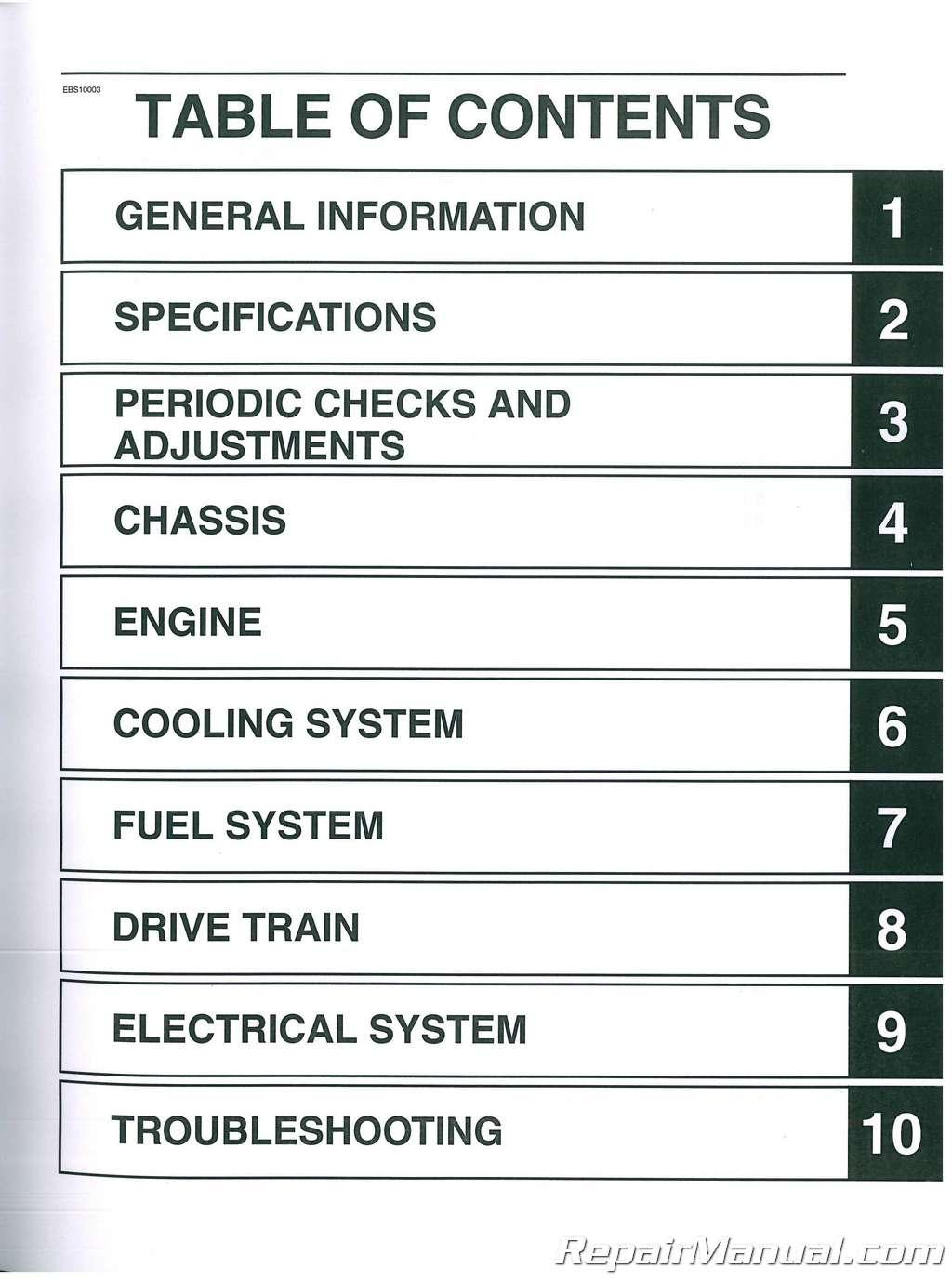 Jcb 8040z 8045z Tracked Excavator Service Manual
