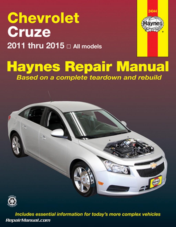 chevrolet cruze haynes automotive repair manual 2011