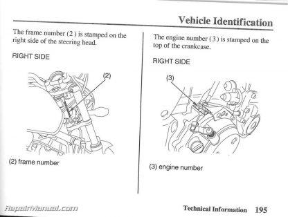 2006 Honda CB900F / 919 Motorcycle Owners Manual