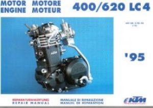 19861987 KTM 350 MXC 350 GS 500 MX 500 MXC Owners Repair Manual