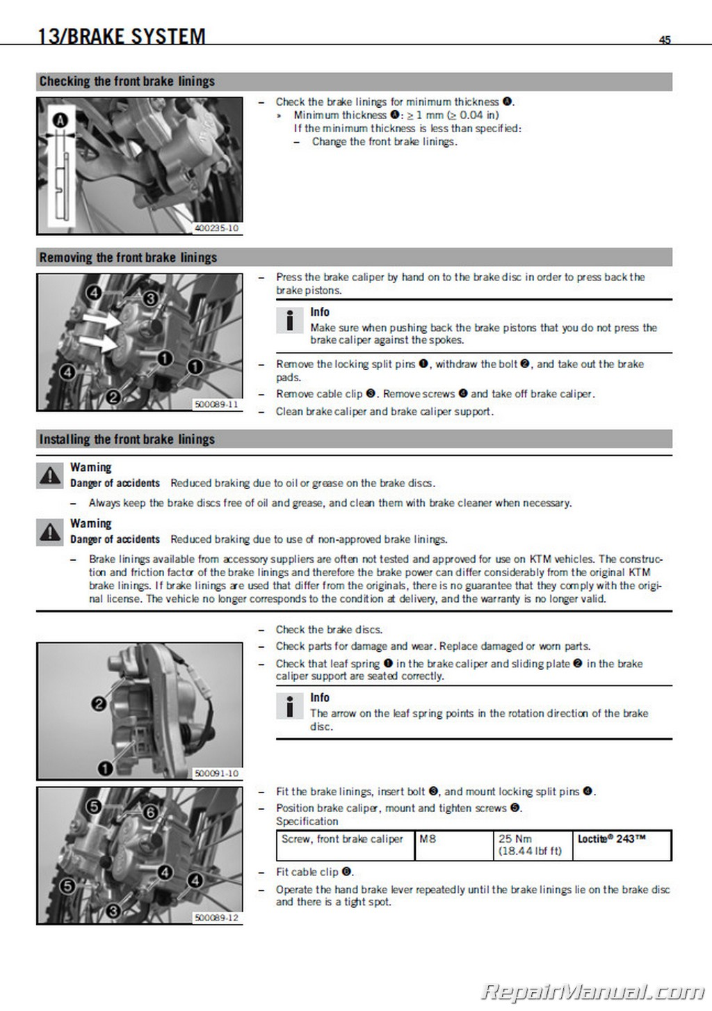 ktm 450 exc wiring diagram crayonbox single phase motor without capacitor 2008 530 r xcr w motorcycle repair manual